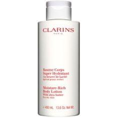 Clarins Hydratační tělové mléko pro suchou pokožku (Moisture Rich Body Lotion)