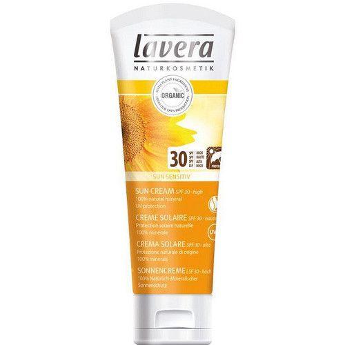 Lavera Soft opalovací krém SPF 30 Sun Sensitive (Sun Cream) 75 ml