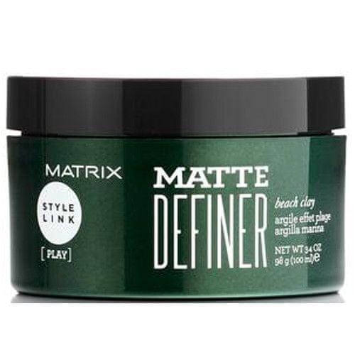 Matrix Matující hlína na vlasy Style Link (Matte Definer Beach Clay) 100 ml