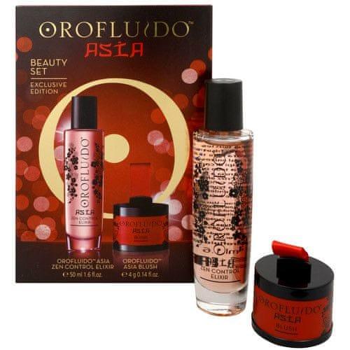 Orofluido Dárková zkrášlující sada Asia (Beauty Set Asia Zen Control Elixir + Asia Blush)