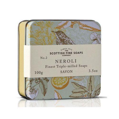 Scottish Fine Soap Mýdlo v plechu Neroli 100 g