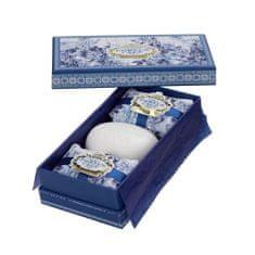 Castelbel Dárková sada mýdel Gold & Blue 3 x 150 g