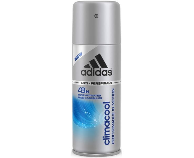 Adidas Antiperspirant ve spreji pro muže Climacool Performance in Motion 48h 150 ml