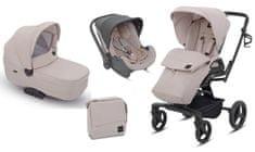 Inglesina otroški voziček 3v1 Quad, bež