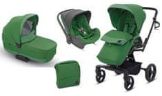 Inglesina otroški voziček 3v1 Quad, zelen