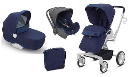 Inglesina otroški voziček 3v1 Quad, moder