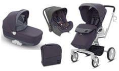 Inglesina otroški voziček 3v1 Quad, siv