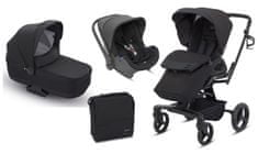 Inglesina otroški voziček 3v1 Quad, črn