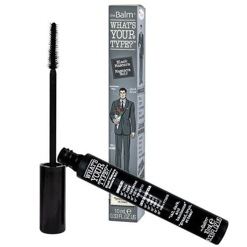 theBalm Prodlužující řasenka What`s Your Type- Tall Dark and Handsome Black 10 ml