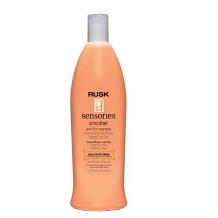 RUSK Uhladzujúci šampón pre nepoddajné vlasy Sensories Smoother (Anti-Frizz Shampoo) 400 ml
