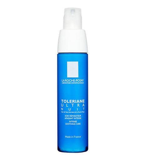 La Roche - Posay Noční intenzivní zklidňující péče na obličej a krk Toleriane (Intense Smoothing Care) 40 ml