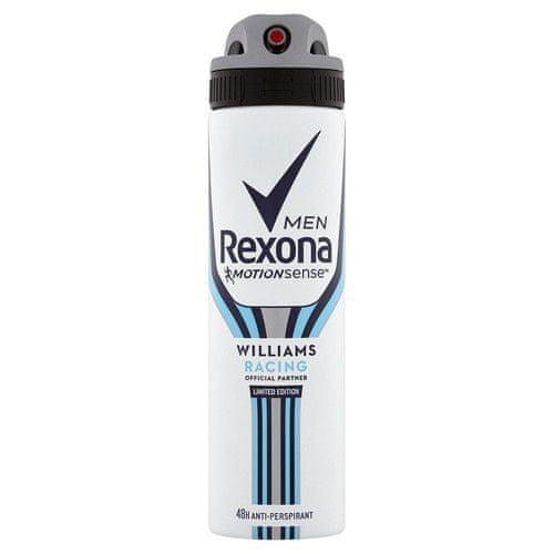 Rexona Antiperspirant ve spreji Men Motionsense Williams Racing 150 ml