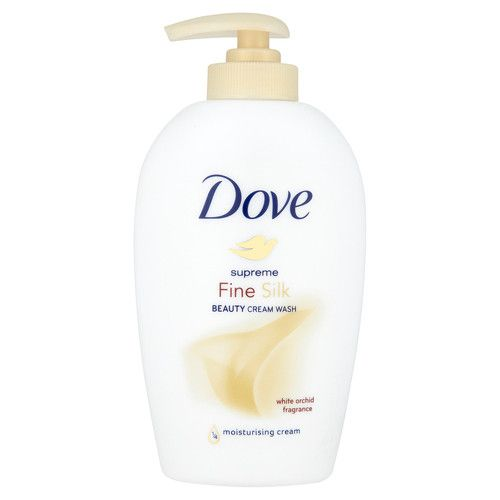 Dove Hedvábné tekuté mýdlo Supreme Fine Silk (Beauty Cream Wash) (Objem Náhradní náplň 500 ml)