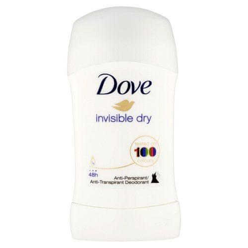 Dove Tuhý deodorant Invisible Dry 40 ml