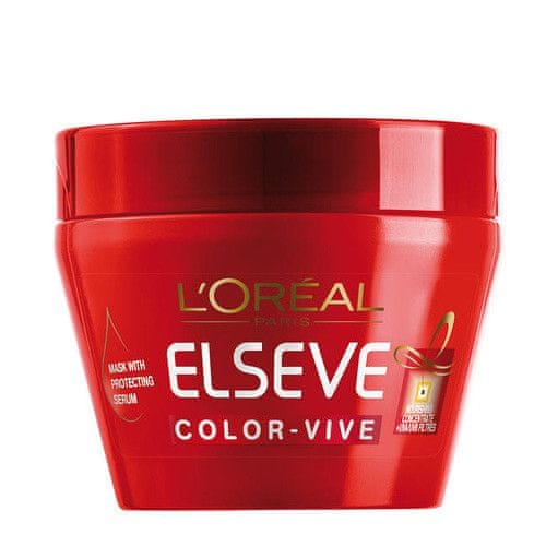 L'Oréal Maska na barvené vlasy Elseve Color Vive (Mask With Protecting Serum) 300 ml