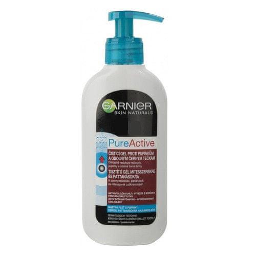 Garnier Čistící gel proti pupínkům Pure Active 200 ml