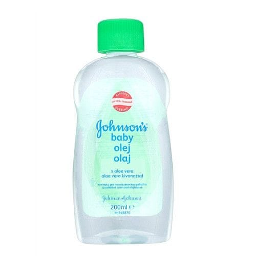 Johnson&Johnson Olej s aloe vera Baby 200 ml