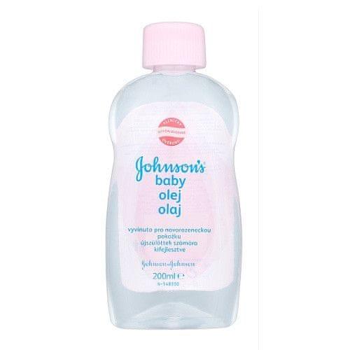 Johnson&Johnson Olej pro dětskou pokožku Baby 200 ml