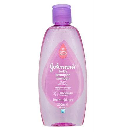 Johnson&Johnson Dětský uklidňující šampon s výtažkem z levandule Baby 200 ml