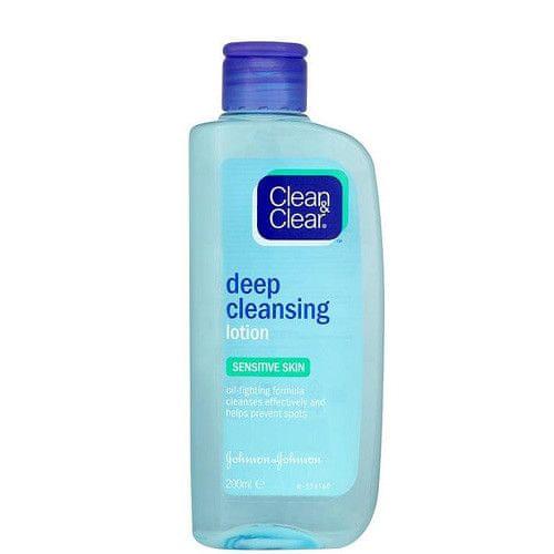 Clean & Clear Hloubkově čistící pleťová voda pro citlivou pleť (Deep Clansing Lotion For Sensitive Skin) 200 ml