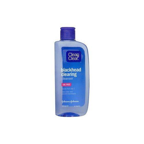 Clean & Clear Čistící pleťová voda proti černým tečkám (Black Head Clearing) (Objem 200 ml)