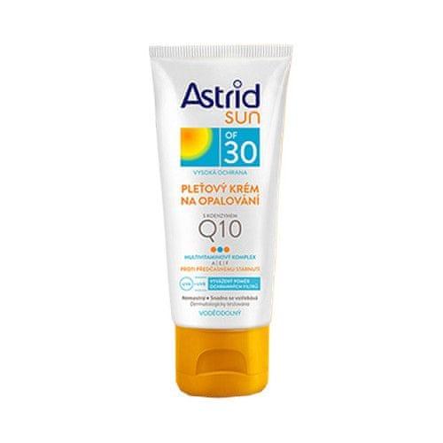 Astrid Pleťový krém na opalování s koenzymem Q10 OF 30 Sun 50 ml
