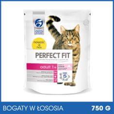 Perfect fit sucha karma dla kota Adult 1+ Bogaty w łososia - 750g