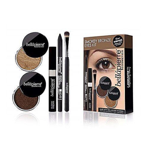 Bellapierre Sada pro kouřové líčení očí (Smokey Bronze Eyes Kit)