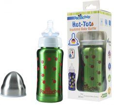 Pacific Baby Hot-Tot termosz 200 ml, Zöld - cseresznye