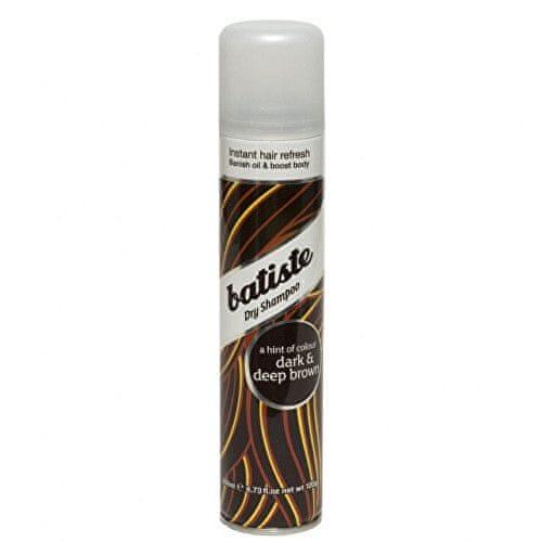Batiste Suchý šampon pro tmavé vlasy (Dry Shampoo Plus Divine Dark) (Objem 200 ml)