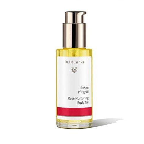 Dr. Hauschka Pečující tělový olej s výtažky z růže (Rose Nurturing Body Oil) 75 ml