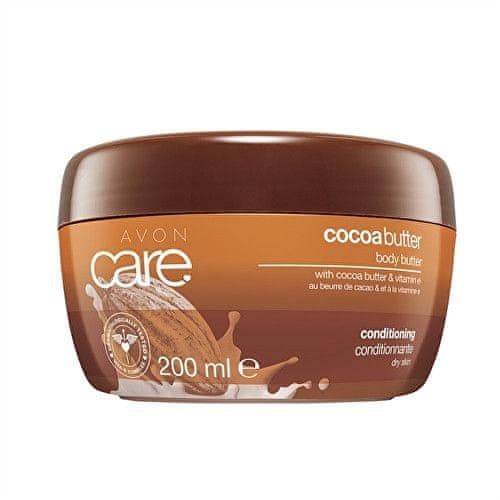 Avon Hydratační tělový krém s kakaovým máslem a vitamínem E Care (Cocoa Butter) 200 ml