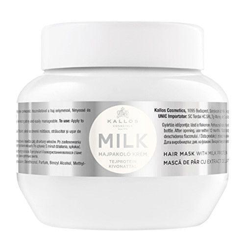 Kallos Maska s mléčnými proteiny pro suché a poškozené vlasy Milk (Hair Mask With Milk Protein) (Objem 1000