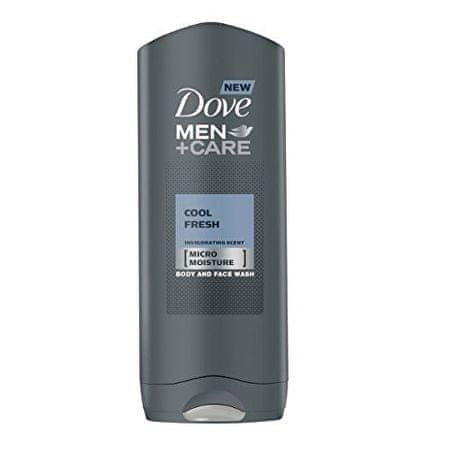 Dove Pánsky sprchový gél Men + Care cool Fresh (Body And Face Wash) 400 ml