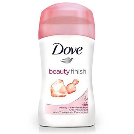 Dove tuhý dezodorant Beauty Finish(Deo Stick) 40 ml