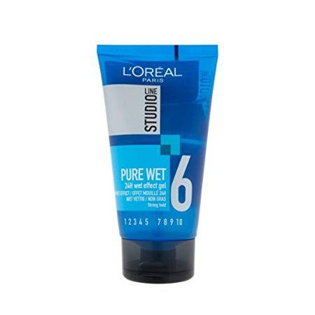 L'Oréal Styling ový gél pre efekt mokrých vlasov Studio Line ( Pure Wet 24H Effect Gel) 150 ml