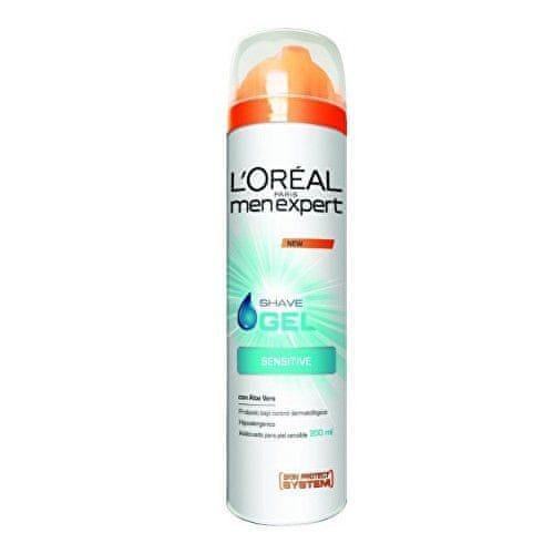 L'Oréal Hydratační gel na holení pro citlivou pleť Men Expert (Hydra Sensitive Shave Gel) 200 ml