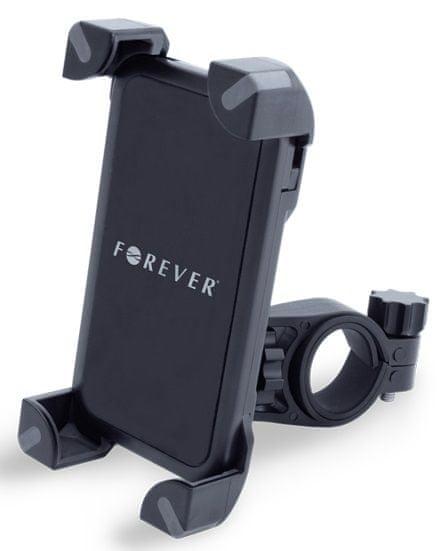 """Forever Držák na řídítka (BH-110), černá, do do 5,7"""""""
