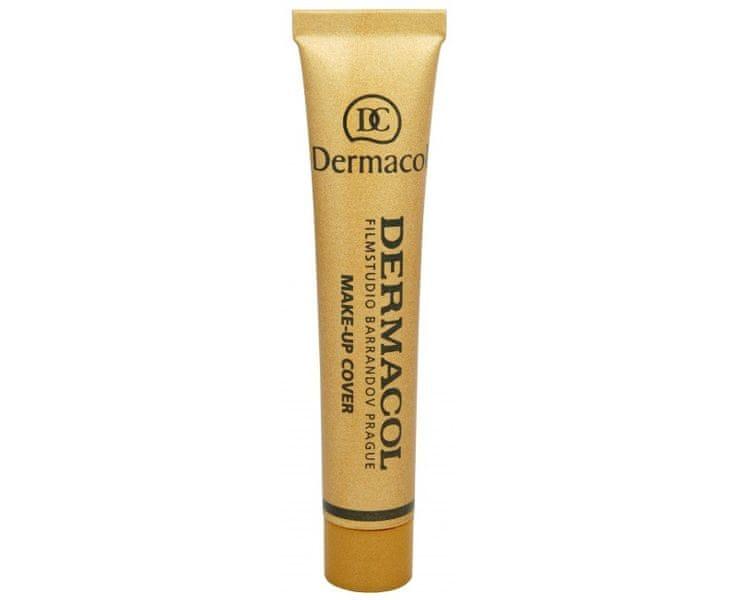 Dermacol Make-up Cover pro jasnou a sjednocenou pleť 30 g (Odstín Odstín č. 208)