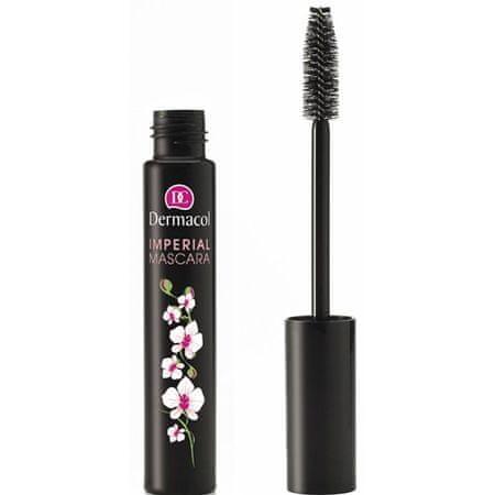 Dermacol Riasenka pre extra dĺžku a objem (Imperial Mascara) 13 ml (Odtieň Black)