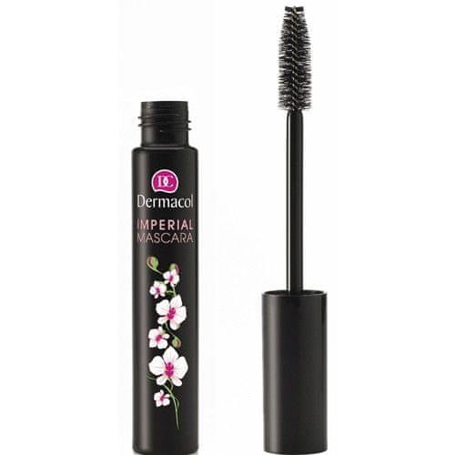 Dermacol Řasenka pro extra délku a objem (Imperial Mascara) 13 ml (Odstín Black)