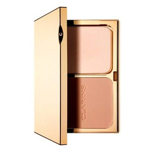 Clarins Kompaktní make-up s dlouhotrvajícím účinkem SPF 15 (Everlasting Compact Foundation) 10 g (Odstín 110
