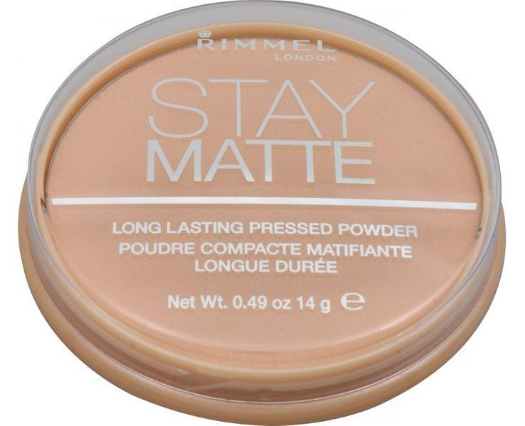 Rimmel Matující kompaktní pudr Stay Matte 14 g (Odstín 002 Pink Blossom)
