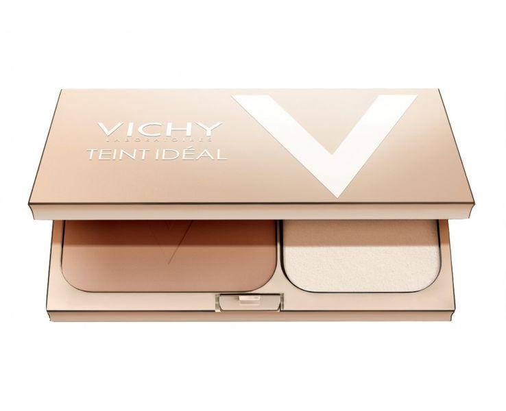 Vichy Rozjasňující kompaktní pudr Teint Ideal SPF 25 9,5 g (Odstín Medium)