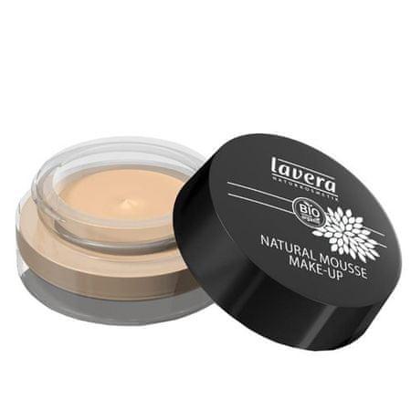 Lavera Prírodný penový make-up (Natural Mousse Make-up) 15 g 01 slonová kosť