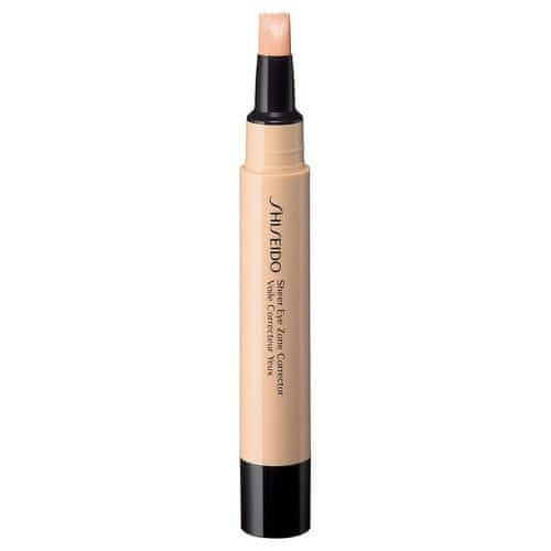 Shiseido Korektor pro oční zónu (Sheer Eye Zone Corrector) 3,8 ml (Odstín 102 Light)