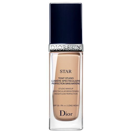 Dior Rozjasňující tekutý make-up SPF 30 (Diorskin Star Studio Make-up) 30 ml (Odstín 010 Ivoire)