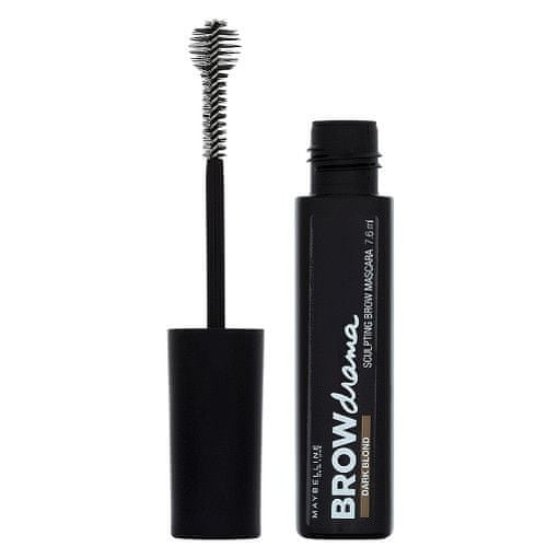 Maybelline Řasenka na obočí Brow Drama (Sculpting Brow Mascara) 7,6 ml (Odstín Medium Brown)