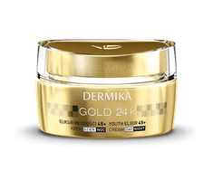 Dermika krem GOLD 24 TOTAL BENEFIT Luks 45+ - 50 ml