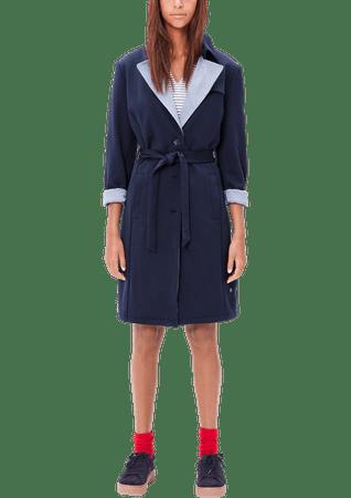 s.Oliver dámský kabát 34 tmavě modrá - Alternativy  04a5d2aee6e